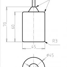 Transmitting and Receiving Antenna RT-2.332820-1