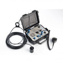 Underwater acoustic navigation system «Zima»