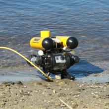 Подводный GPS на телеуправляемом необитаемом подводном аппарате: опыт использования